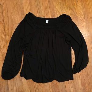 3/4 length old navy shirt ✨